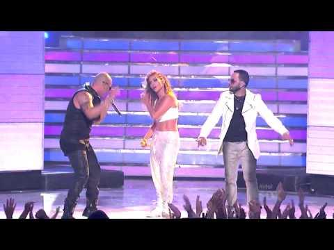 """""""Follow The Leader""""-Wisin Y Yandel feat. Jennifer Lopez, American Idol Finale"""