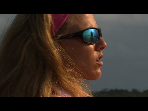 Darcizzle Offshore Flats Pink Fishing Rod Catches Monster Redfish