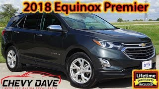 Preowned 2018 Chevrolet Equinox Premier Model REview and It