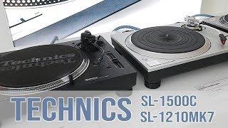 Technics SL-1500C & SL-1210MK7 - Hands on (german!)