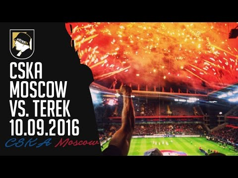 CSKA Moscow - Terek 10.09.2016 - Opening new stadium