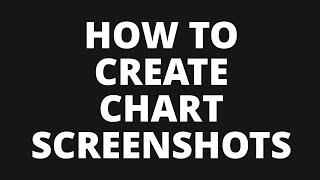 How to Create Forex Chart Screenshots / Screen Prints
