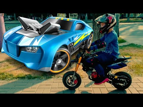 Den POCKET BIKE And New Toy-car