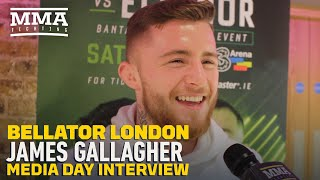 James Gallagher Reveals He Punched Mike Kimbel For 'Disrespecting' His Mother - MMA Fighting