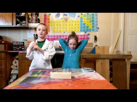 DIY Xylophone, Make Awesome Sounds With Science - Episode 027