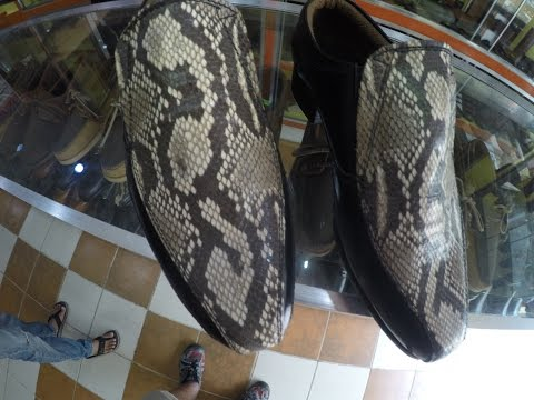 COST OF LIVING IN THE PHILIPPINES $100 SNAKE SKIN SHOES $12 CUSTOM LEATHER BELTS San Pedro College