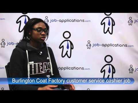 Burlington Coat Factory Interview - Customer Service Cashier