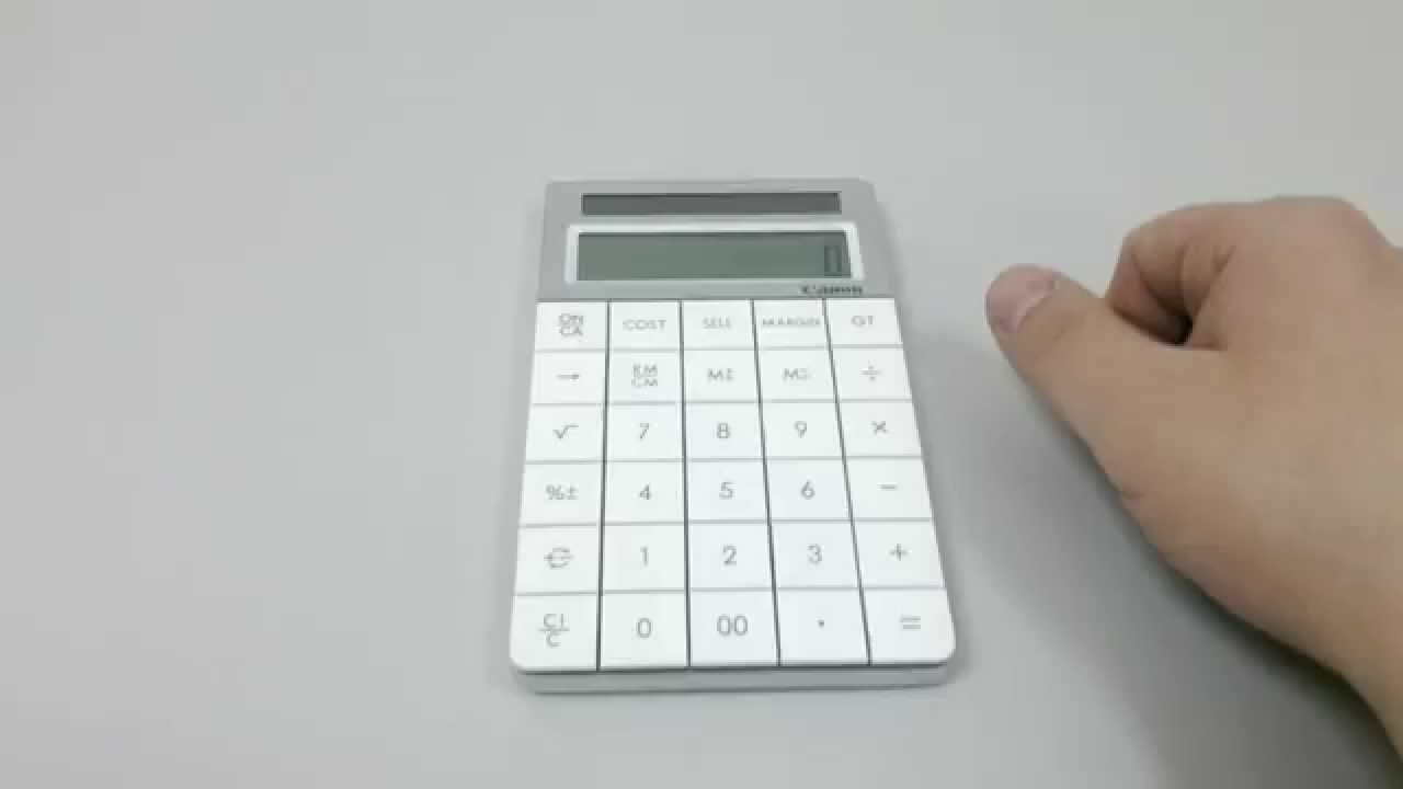 Калькулятор KENKO модель KK-107A математический научный - YouTube