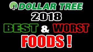 Dollar Tree's BEST & WORST Foods of 2018 - WHAT ARE WE EATING?? - The Wolfe Pit