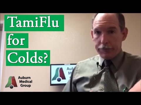 TamiFlu for Colds?