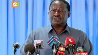 Odinga claims of yet another secret underground water project