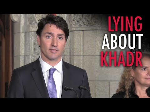 Trudeau lies to sell Canadian public on Khadr payout