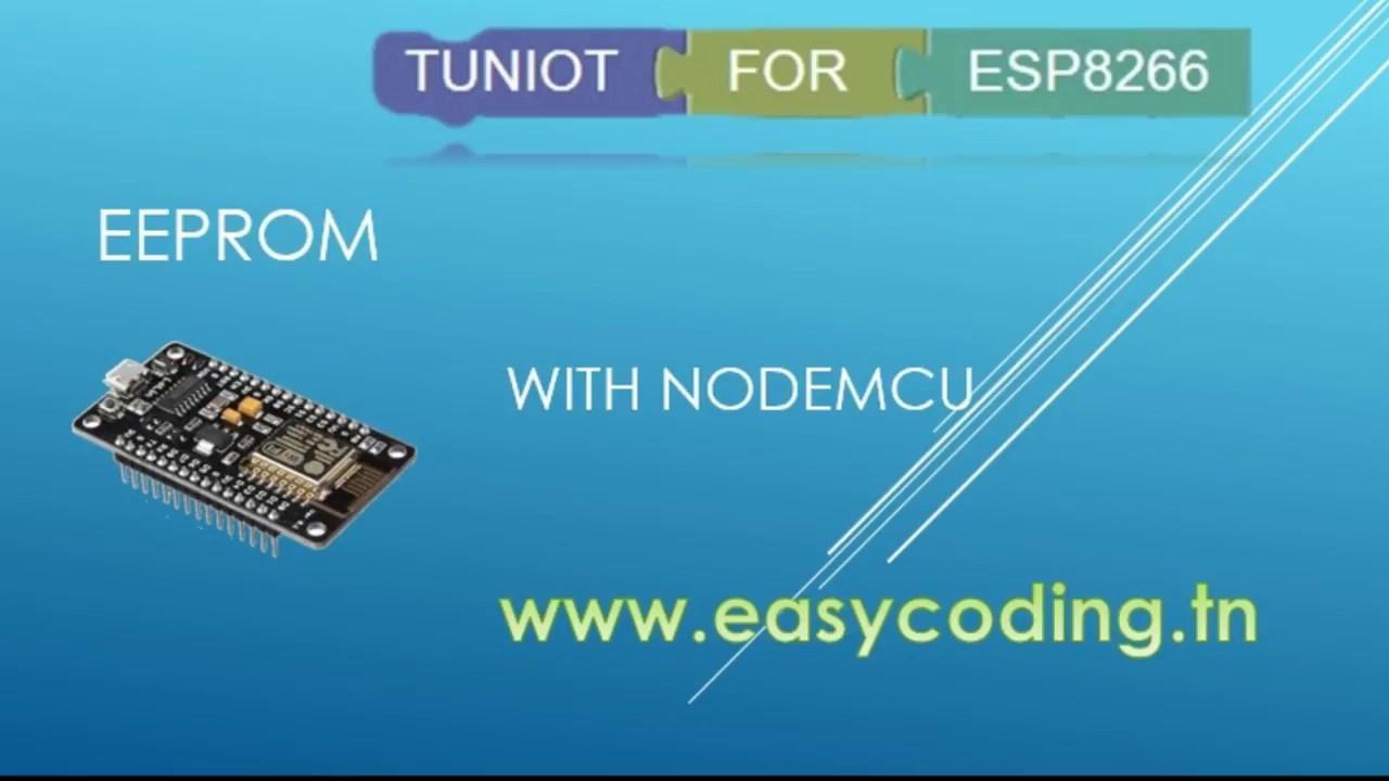 nodemcu esp8266 tutorial 12 eeprom youtube rh youtube com EEPROM Chip EEPROM Chip