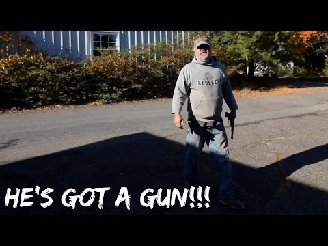(GONE WRONG)CAUGHT BY CARETAKER WITH A GUN!!! ABANDONED POCONOS RESORT