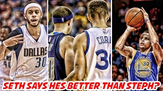 SETH says he's a BETTER SHOOTER than STEPHEN CURRY! Stephen A Smith vs Kevin Durant!   NBA News thumbnail