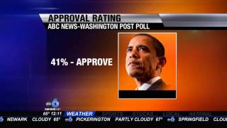 Poll: President Obama's Approval Rating Hits All-Time Low