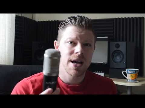 Screencast Challenge Day 7 : ADK A6 Large Diaphragm Condenser Microphone Review