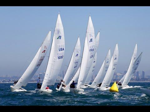 One Design Racing: Sail Etchells