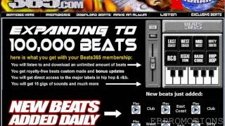BEAT 365: How to DOWNLOAD the Best Rap and HipHop Beats Software.
