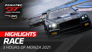 Race Highlights | 2021 Monza | Fanatec GT World Challenge Europe