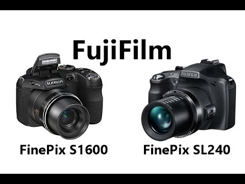 Fujifilm 39 s finepix s1600 vs finepix sl240 indoor mic and for Fujifilm s1600 prix