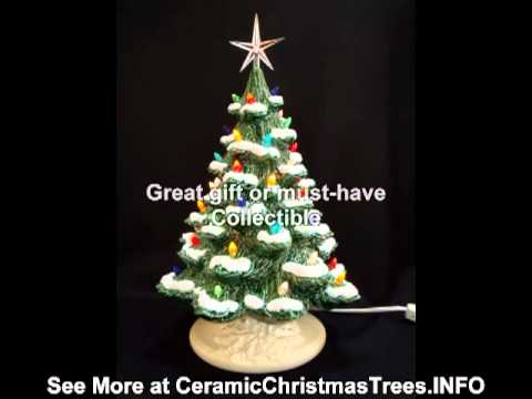 How Our Trees Are Made Ceramic Christmas Tree