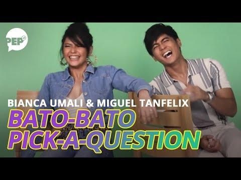 Bianca Umali Helps Miguel Tanfelix Reveal His Funniest, Darkest Secret | PEP Challenge