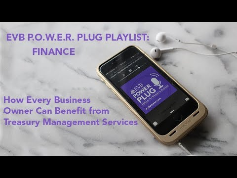P.O.W.E.R. Plug Podcast: How Every Business Can Benefit from Treasury Management Services