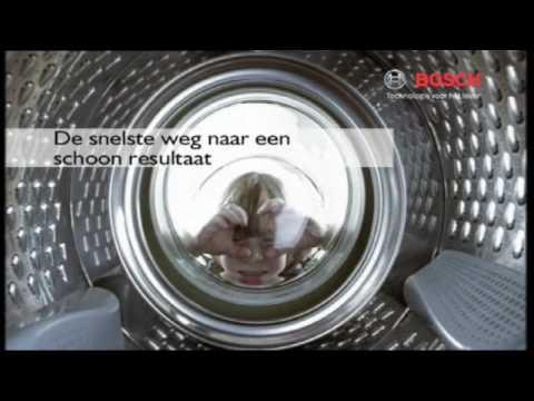 Bosch Logixx 8 wasmachine variosoft  YouTube
