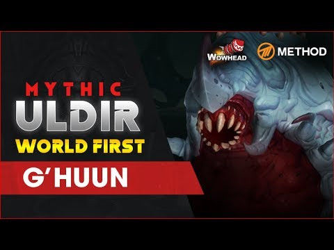Method VS G'huun WORLD FIRST - Mythic Uldir