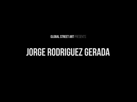 Jorge Rodriguez Gerada talks with Global Street Art