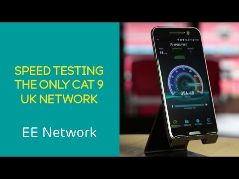 EE 4G Network: Speed test on the only Cat 9 network in the UK
