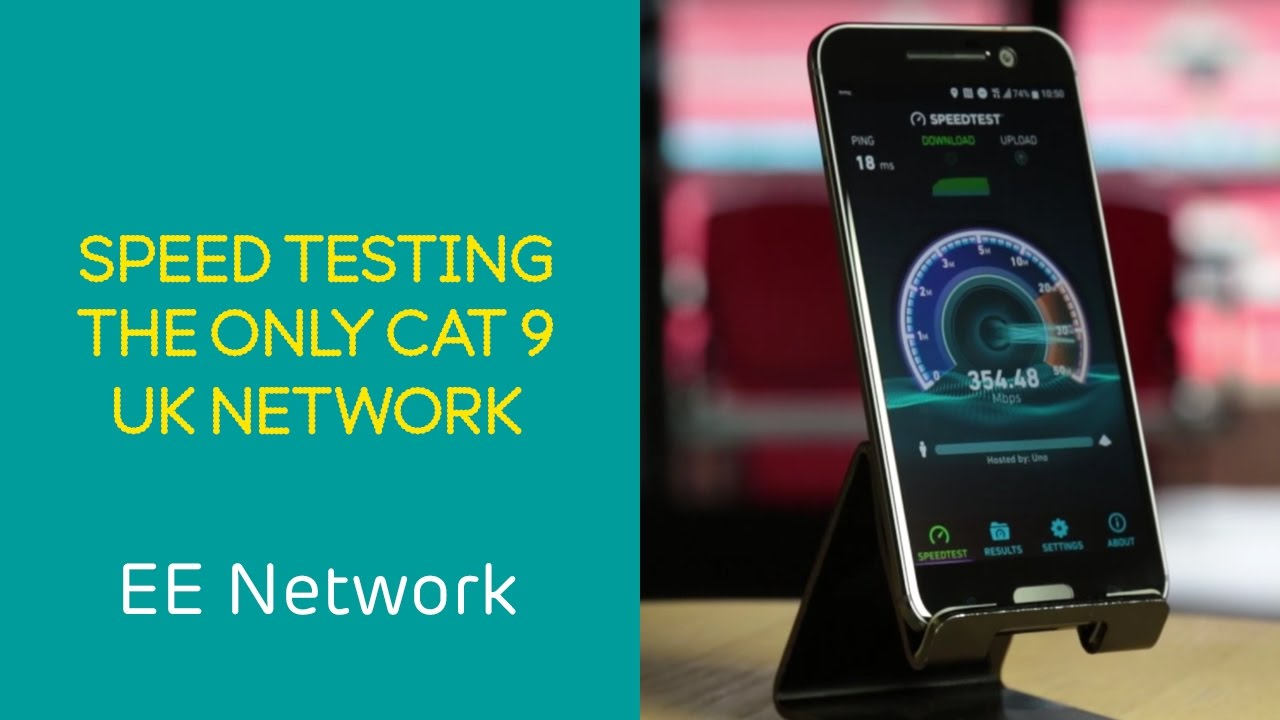 Ee 4g Network Speed Test On The Only Cat 9 Network In The Uk