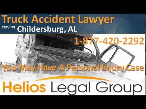 Childersburg Truck Accident Lawyer & Attorney - Alabama