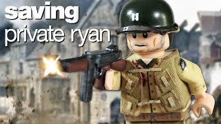 Custom LEGO Saving Private Ryan: Captain Miller
