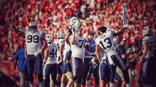 BYU Upsets #6 Wisconsin 2018 ULTIMATE Highlights!