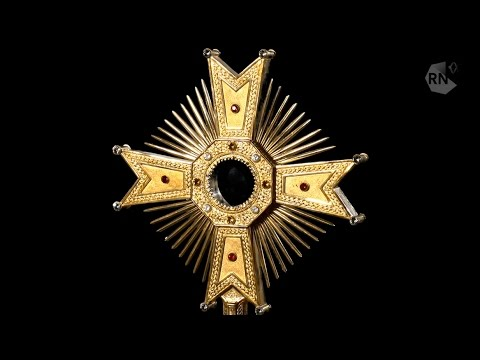 please explain what is a monstrance youtube