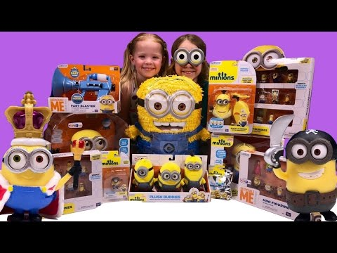 Despicable Me 3 Minions Top 10 Toy Countdown ~ Episode 3 ~ Kids Variety Show