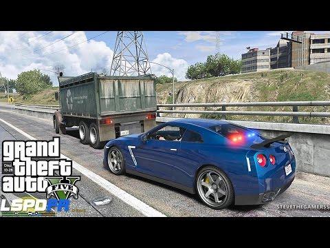 GTA 5 LSPDFR 0.3.1 - EPiSODE 262  - LET'S BE COPS - FLORIDA HWY PATROL (GTA 5 PC POLICE MODS) GTR