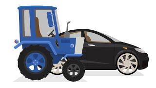 Мультики для детей про машинки (Электромобиль) и автосервис: Доктор Машинкова
