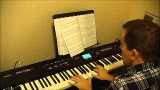 Ben Folds Sentimental Guy (piano instrumental cover)