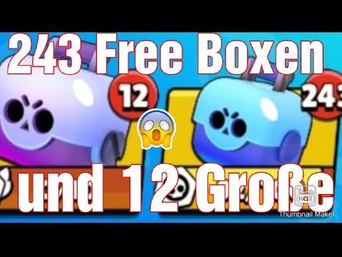 Richtig Krasses Box Opening In Brawl Stars (mit 244 Kleinen Boxen 12 Große 2 Megaboxen)