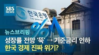 성장률 전망 '뚝' → 기준금리 인하…한국 경제 진짜 …