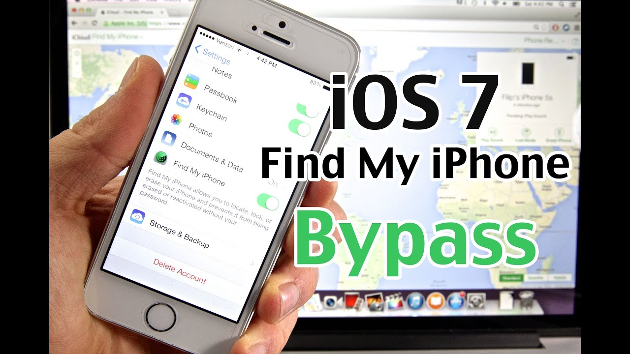 How To Bypass Find My Iphone Ios 7  Major New Icloud Security Flaw On  Iphone, Ipad & Ipod