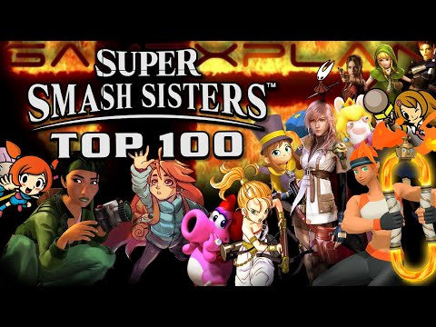 Super Smash Sisters: The Top 100 Women Who Should Be In Super Smash Bros. Ultimate! (100-51)