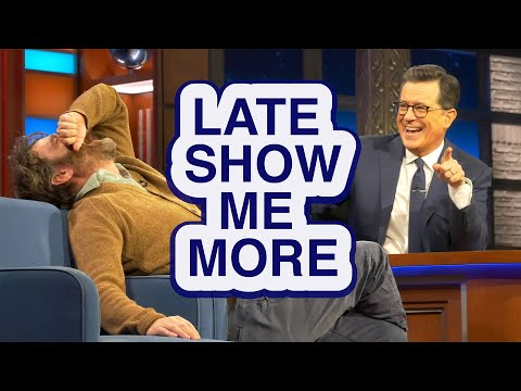 LATE SHOW ME MORE: Get Your Head In The Game