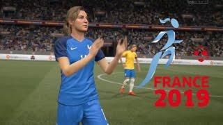 [HD] France (F) vs Brésil (F) Coupe du Monde Féminine #03 Match de Poule Fifa 17