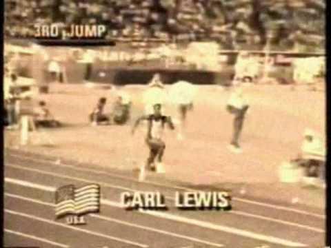 Mike Powell vs Carl Lewis Long Jump