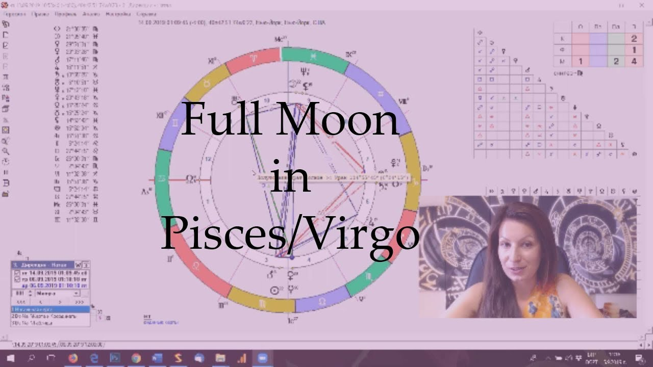 Full Moon in Pisces-Virgo | Weekly Horoscope September 9-15
