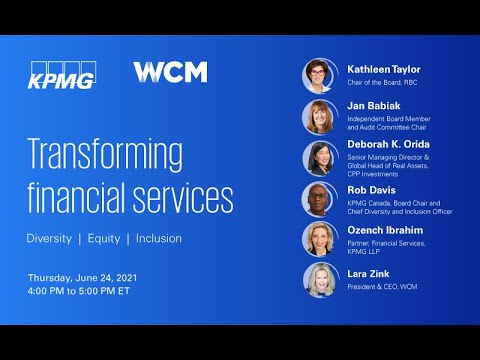 Transforming Financial Services: An ED&I lens for a post-pandemic economic recovery